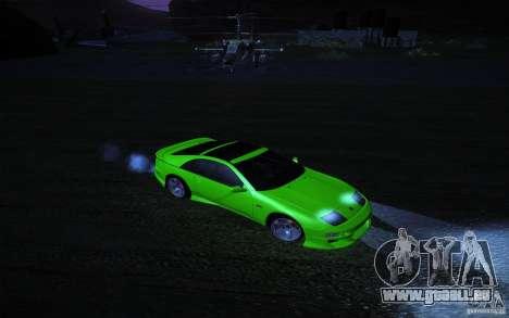 Nissan 300 ZX pour GTA San Andreas vue arrière