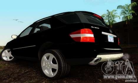 Mercedes-Benz ML500 für GTA San Andreas linke Ansicht