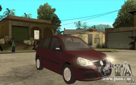 Volkswagen Polo 2006 pour GTA San Andreas vue arrière
