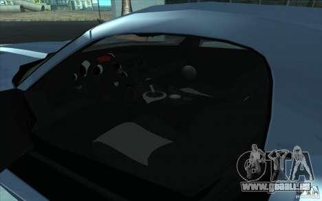 Dodge Viper SRT10 ACR pour GTA San Andreas vue de droite
