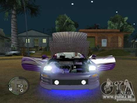 Mitsubishi Spyder 2Fast2Furious Cabriolet pour GTA San Andreas vue arrière