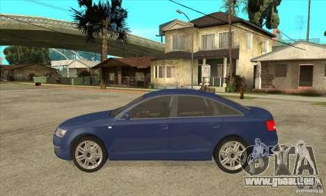 Audi S6 Limousine V1.1 pour GTA San Andreas laissé vue