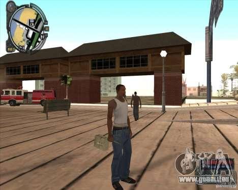 S.T.A.L.K.E.R. Call of Pripyat HUD for SA v1.0 für GTA San Andreas her Screenshot