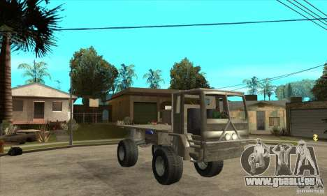 Fast Five Sand King für GTA San Andreas Rückansicht