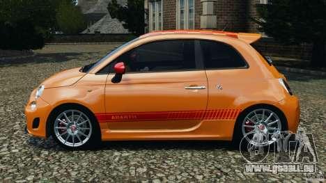 Fiat 500 Abarth pour GTA 4 est une gauche