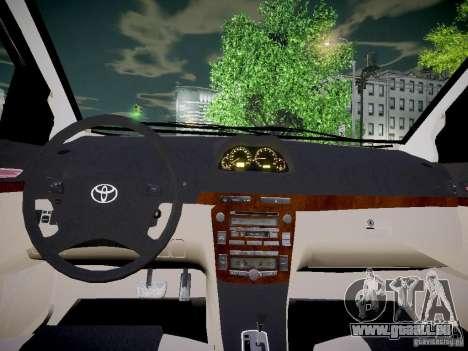 Toyota Vitz pour GTA 4 Vue arrière