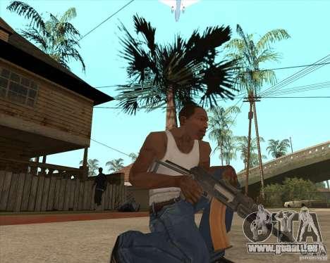AK74U für GTA San Andreas