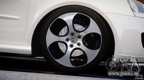 Volkswagen Golf GTI 2006 v1.0 pour GTA 4 vue de dessus