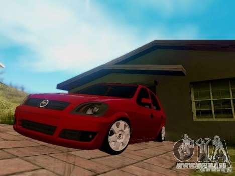 Chevrolet Celta 1.0 VHC für GTA San Andreas rechten Ansicht