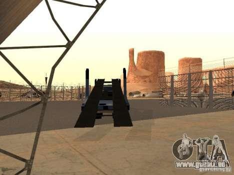 Camion KAMAZ pour GTA San Andreas laissé vue