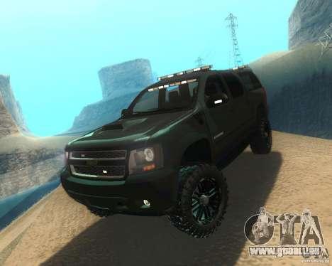 Chevrolet Suburban Crankcase Transformers 3 für GTA San Andreas