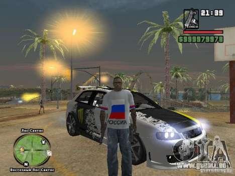 Fußball-Russland für GTA San Andreas zweiten Screenshot