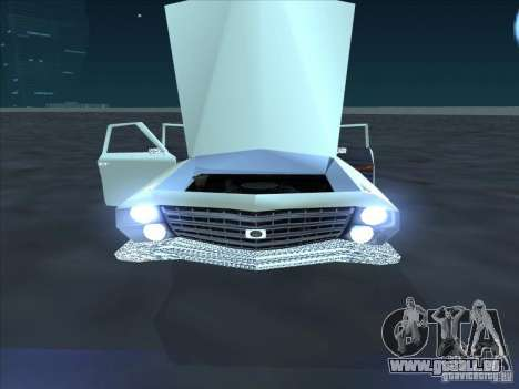 Cadillac Stella für GTA San Andreas zurück linke Ansicht