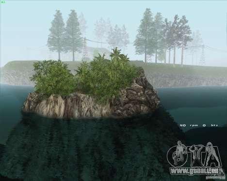 Project Oblivion 2010HQ pour GTA San Andreas deuxième écran