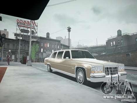 Cadillac Fleetwood 1985 für GTA 4 rechte Ansicht