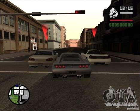 Great Theft Car V1.0 pour GTA San Andreas quatrième écran