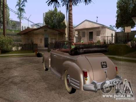 Phaeton ZiS-110 b pour GTA San Andreas laissé vue