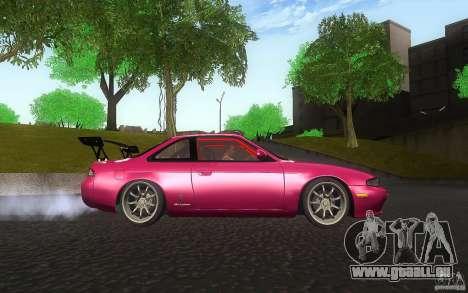 Nissan Silvia S14 Zenkitron für GTA San Andreas Innenansicht