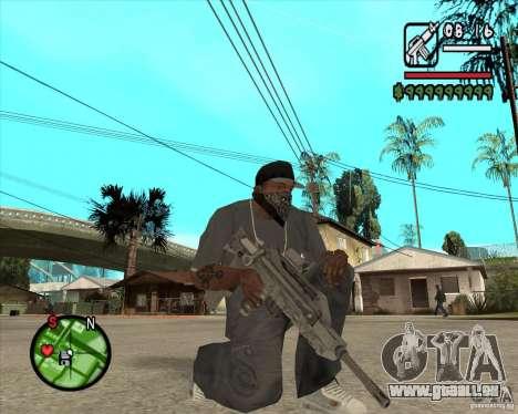 Famas de CoD Black Ops pour GTA San Andreas