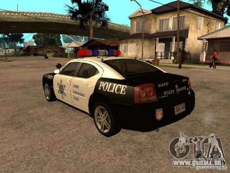 Dodge Charger RT Police für GTA San Andreas linke Ansicht