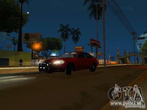 Chevrolet Impala Unmarked für GTA San Andreas linke Ansicht