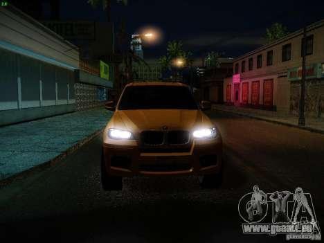 BMW X5M 2011 pour GTA San Andreas salon