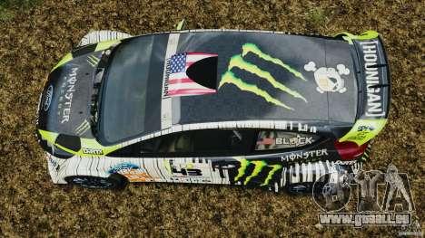 Ford Fiesta RS WRC Gymkhana v1.0 für GTA 4 rechte Ansicht