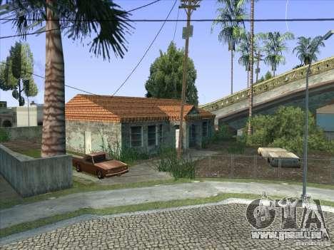 Grove Street Retextured pour GTA San Andreas neuvième écran