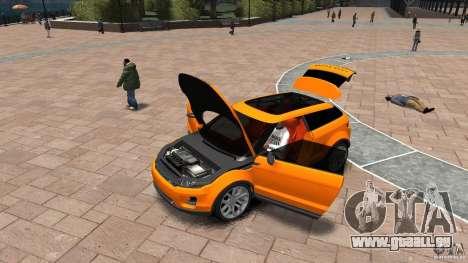 Range Rover LRX 2010 pour GTA 4 Vue arrière