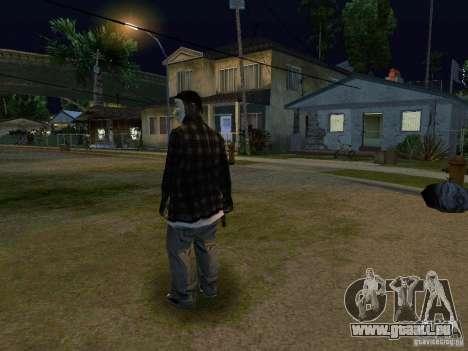 Die neuen Grove-Anonymus für GTA San Andreas dritten Screenshot