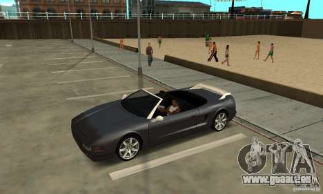 New InFernus für GTA San Andreas Rückansicht