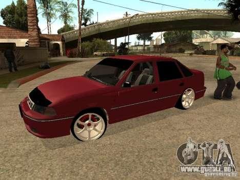 Daewoo Nexia pour GTA San Andreas vue de dessus