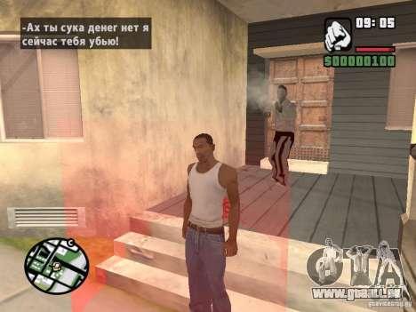 Acheter graines pour GTA San Andreas deuxième écran