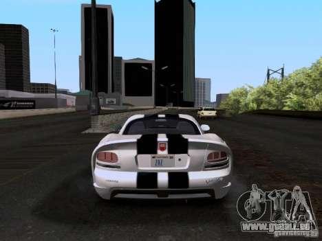 Dodge Viper SRT-10 Custom für GTA San Andreas rechten Ansicht