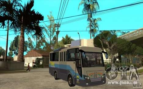 Hino Evo C für GTA San Andreas Rückansicht