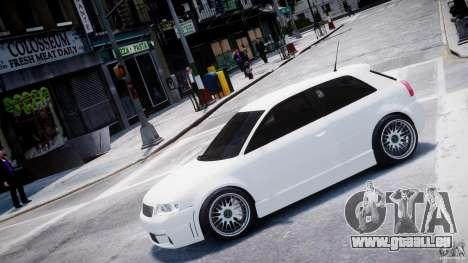 Audi A3 Tuning pour GTA 4 est une gauche