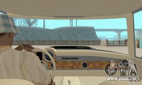 Mercedes-Benz 280SL (glänzend) für GTA San Andreas Innenansicht