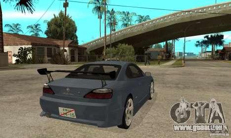 Nissan Silvia S15 Tun für GTA San Andreas rechten Ansicht
