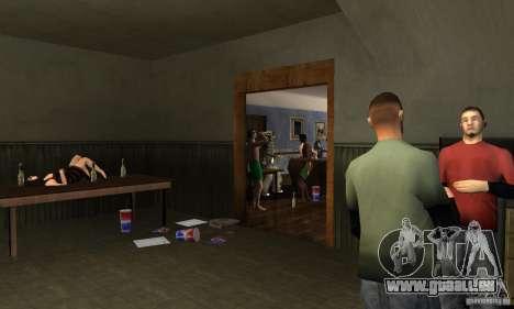 Projet x dans la construction de CJ pour GTA San Andreas deuxième écran