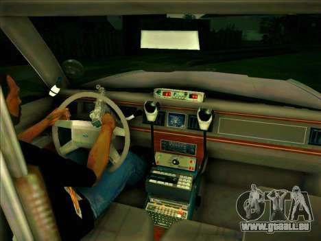 Ford Crown Victoria LTD 1991 HILL-VALLEY Police pour GTA San Andreas vue de droite