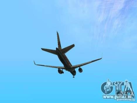 Boeing 757-200 American Airlines für GTA San Andreas Seitenansicht