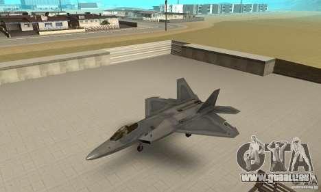 F-22 Grey pour GTA San Andreas