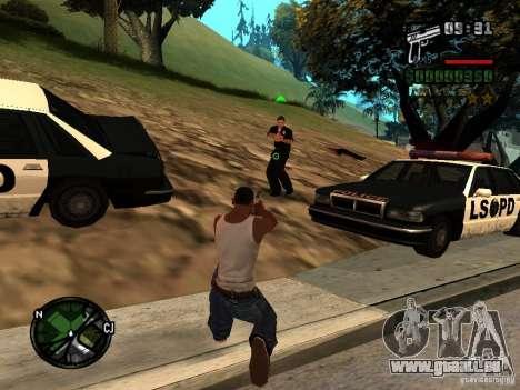 HUD und Schriften v1. 0 für GTA San Andreas