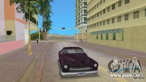 Hermes HD pour GTA Vice City sur la vue arrière gauche