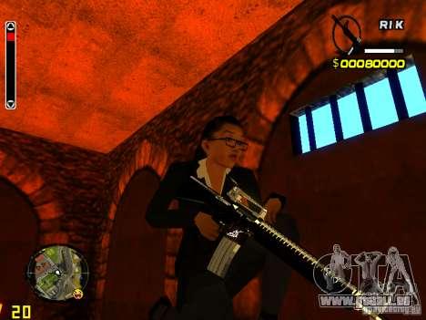 Next weapon pack pour GTA San Andreas troisième écran