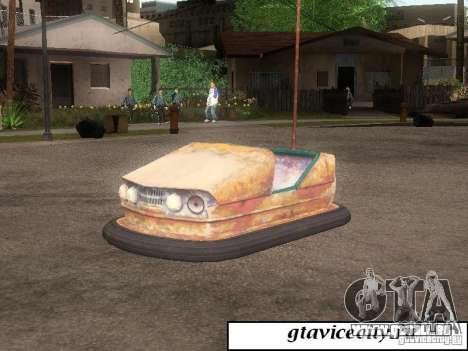 Attrakcionnaâ Maschine für GTA San Andreas linke Ansicht