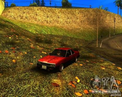Nissan Skyline RS TURBO (R30) pour GTA San Andreas
