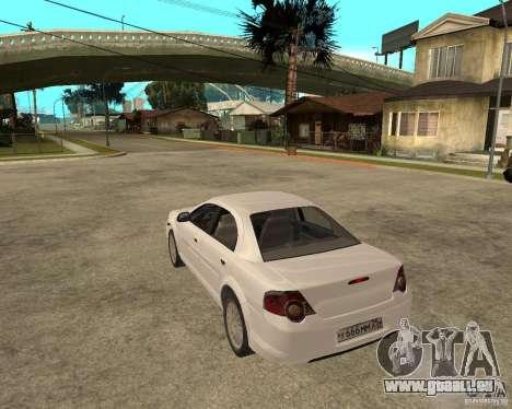 GAZ Volga Siber AT 2,5 pour GTA San Andreas laissé vue