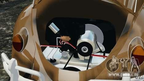 Volkswagen Fusca Gran Luxo v2.0 pour GTA 4 est une vue de dessous