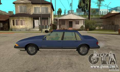 Pontiac Bonneville 1989 pour GTA San Andreas laissé vue
